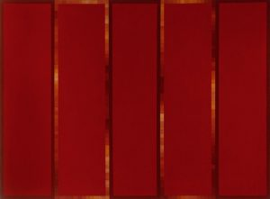 Robert Jacks, 'Red Painting' (1967)