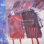 David Hockney, 'We two boys together clinging' (1961)