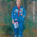 Peter Blake, 'Self-portrait with badges' (1961)