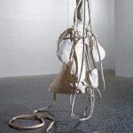 Claes Oldenburg, 'Giant soft fan – ghost version' (1967). The Museum of Fine Arts, Houston. Gift of D and J de Menil © Claes Oldenburg