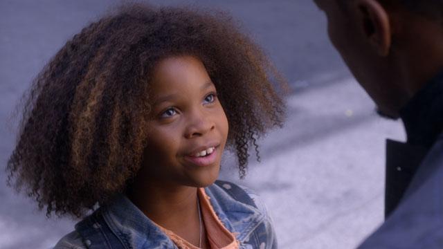 Quvenzhané Wallis in 'Annie' (2014)