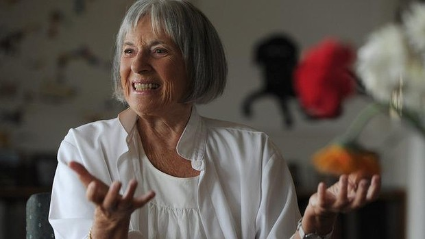 Betty Churcher, at her home in Wamboin in 2012