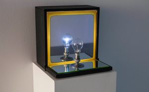 Bill Culbert, Bulb Box Reflection II, (1975)
