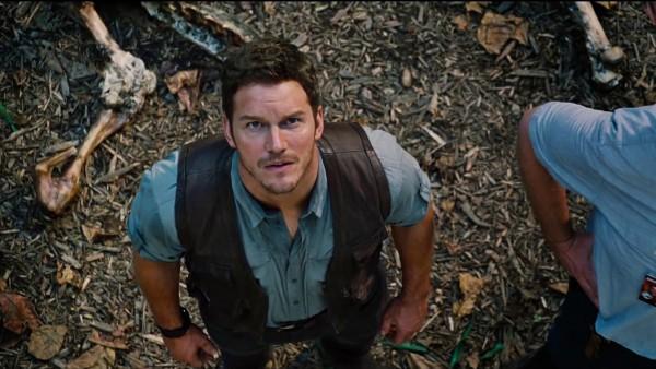 Chris Pratt in 'Jurassic World' (2015)