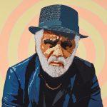 Richard Bell, ME, acrylic on canvas, 150 x 150 cm