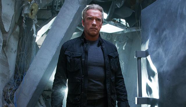 Arnold Schwarzenegger in 'Terminator Genisys' (2015)