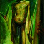 William Dobell, 'Boy with a bow' (1953)