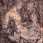 Hendrick Goltzius, 'Bacchus, Venus and Ceres' (1606)