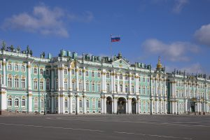 The Hermitage Museum, St Petersburg, Russia.