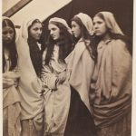 Julia Margaret Cameron, The Five Foolish Virgins, (1864)