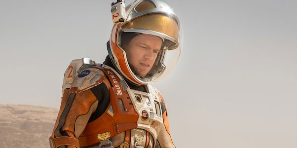 Matt Damon in 'The Martian' (2015)