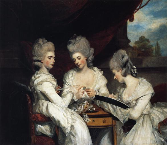 Joshua Reynolds, 'The Ladies Waldegrave' (1780-81)