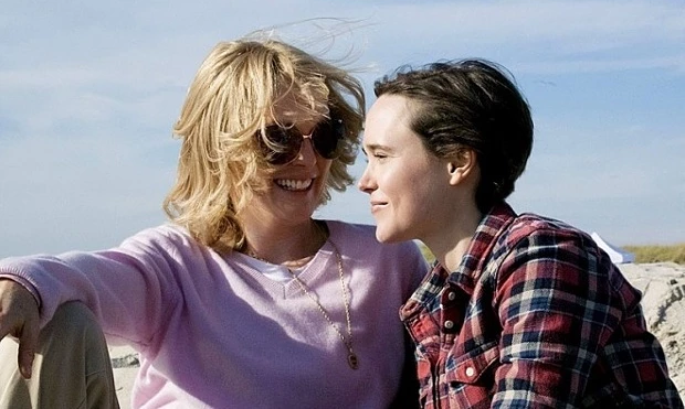 Julianne Moore and Ellen Page in 'Freeheld' (2015). Photograph: Lionsgate