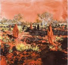 Mandy Martin, 'Burnt Patch at Handover Camp' (2013)