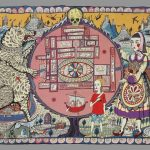 Grayson Perry, 'Map of Truths and Beliefs' (2011)