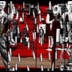 'Homothetic' 2013 by Gilbert & George