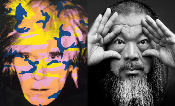 Andy Warhol and Ai Weiwei Exhibition @NGV