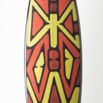 Surfboard by Vernon Ah Kee. Yidindji, Kuku Yalandji, Waanji, Koko Berrin and Gugu Yimithirr peoples. Photo: George Serra