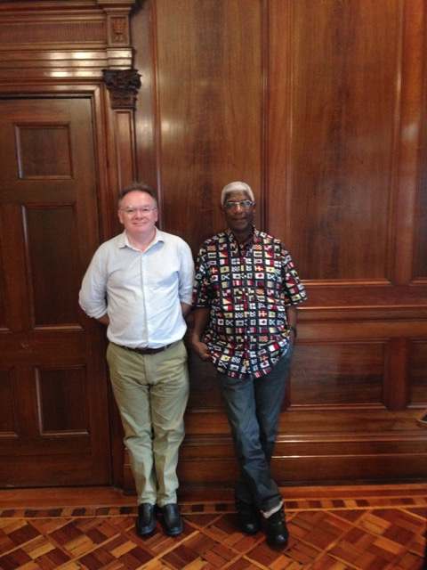 Lunch with El Anatsui at the Old Clare Hotel