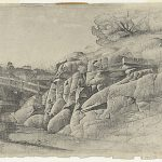 Lloyd Rees, Rock Formation, Waverton, (1934)