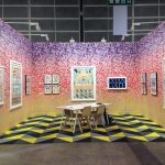 View of Darren Knight Gallery at Art Basel Hong Kong 2016, with works by Jess Johnson.
