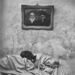 Roger Ballen, Outland, Portrait of Sleeping Girl, 2000