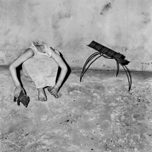 Roger Ballen, Head Inside Shirt, 2001