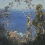 Arthur Streeton, Ocean blue, Lorne, (1921)