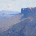 Arthur Streeton, Mount Rosea, Grampians, (1920)