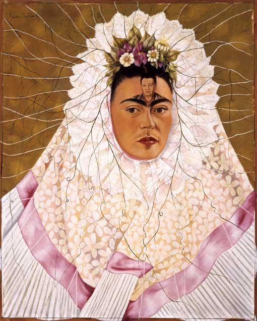 Frida Kahlo Diego on my mind (Self-portrait as Tehuana) 1943 The Jacques and Natasha Gelman Collection of Mexican Art © 2016 Banco de Mexico Diego Rivera Frida Kahlo Museums Trust, Mexico DF