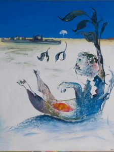 Arthur Boyd, Jonah on the Shoalhaven - Outside the City (1976)