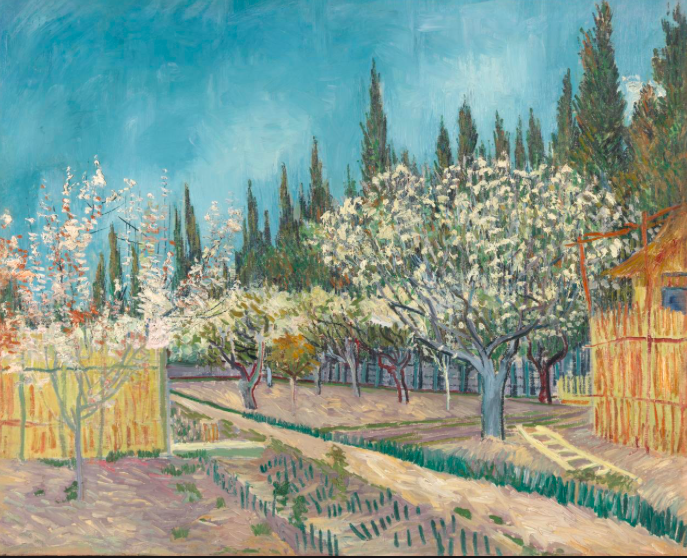 Vincent Van Gogh, Orchard in blossom (1889)