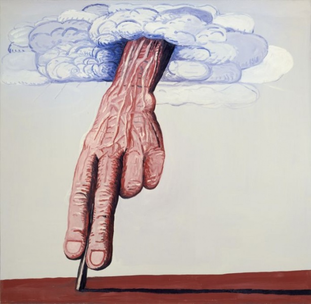 Philip Guston, The Line (1978)