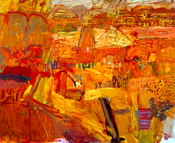 Elisabeth Cummings, 'Arkaroola Landscape' (2004) Collection: Art Gallery of NSW
