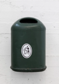 Klara Lidén, 'Untitled (trashcan)' (2013)