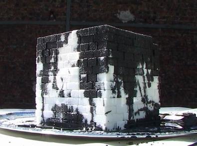 Kader Attia, Oil and sugar (2010), an acquired taste..