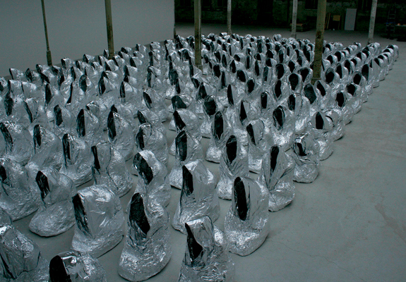 Kader Attia, Ghost (2007/17), shiny but empty