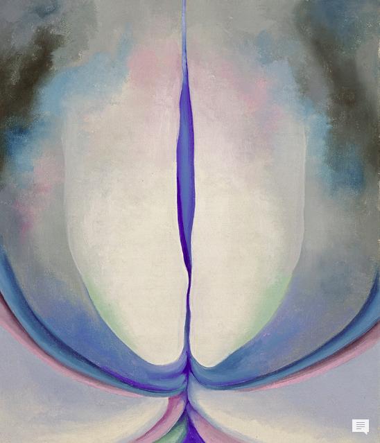 Georgia O'Keeffe, Blue Line (1919)