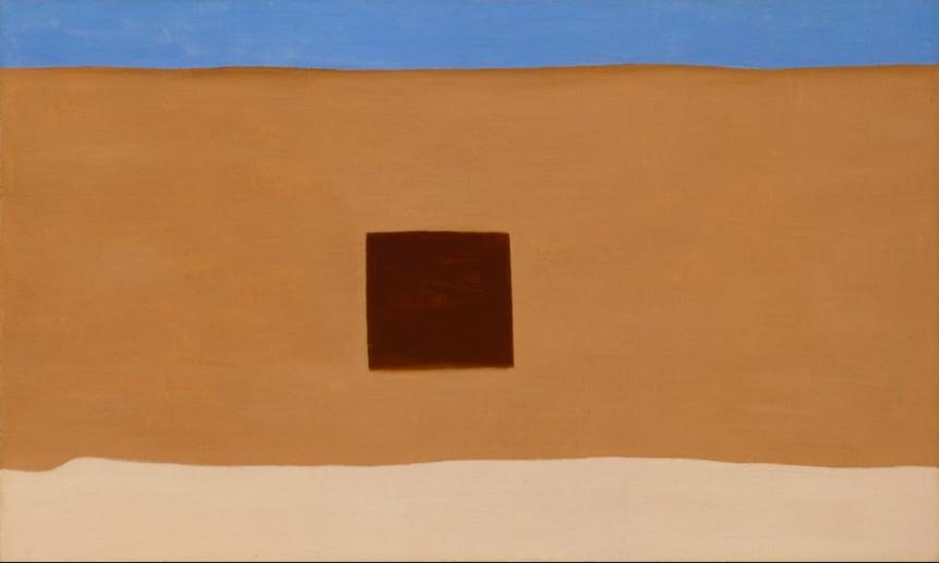 Georgia O'Keeffe, In the Patio III (1948)