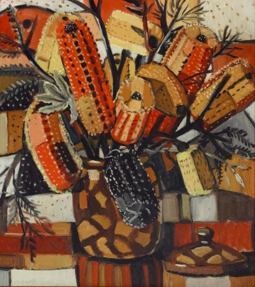 Margaret Preston, The Brown Pot (1940)