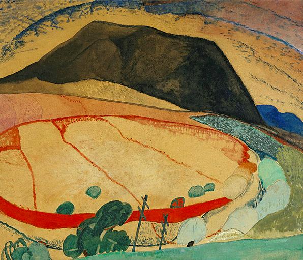 Grace Cossington Smith, Black Mountain (1931)