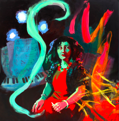 Wendy Sharpe: The Witching Hour - Elena Kats-Chernin (composer)