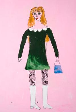 Jenny Watson, '60s Dolly Bird' (2014)