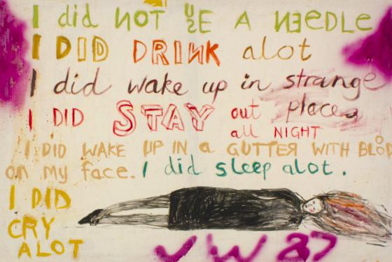 Jenny Watson, 'The Key Painting' (1987)