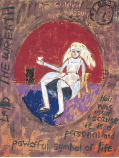 Jenny Watson, 'Alice in Tokyo' (1984)