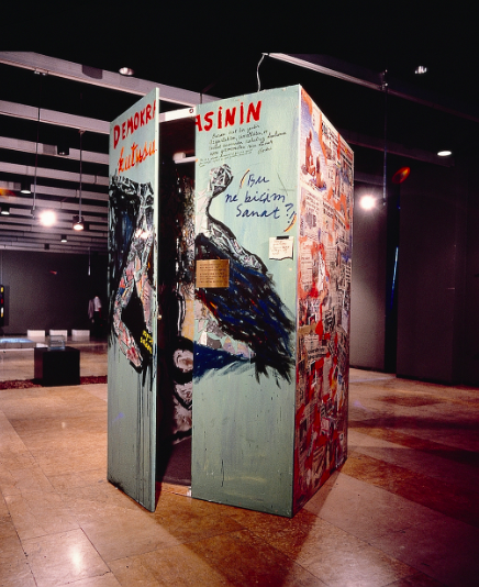 Bedri Baykam, 'Box of Democracy' (1987)