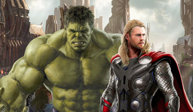 Thor & his buddy