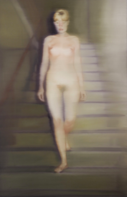 Gerhard Richter, Ema (nude on a staircase) the 1992 photoprint