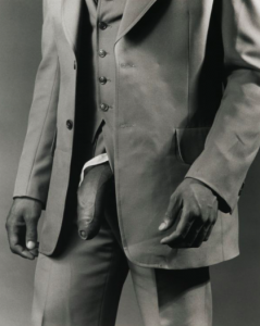 Robert Mapplethorpe, 'Man in Polyester Suit' (1980)