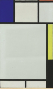 Piet Mondrian, 'Composition with blue, red, yellow and black' (1922)